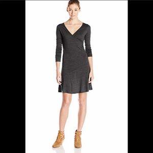 prAna 3/4 Nadia Wrap Dress